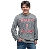JanSport Bucky Badger Long Sleeve T-Shirt (Graphite) *