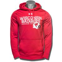 Under Armour WI Armour Up Fleece Hooded Sweatshirt (Red) *