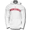 Under Armour Wisconsin Fleece Hooded Sweatshirt (White) *
