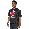 Under Armour On Wisconsin Tech Tee (Black)