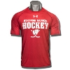 Under Armour WI Badgers Hockey Tech Tee (Red) *