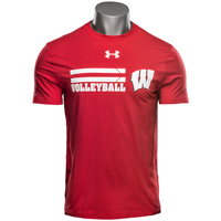 Under Armour UW Volleyball Charged Cotton Tee (Red)*
