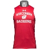 Under Armour Badgers Sleeveless Tech Tee (Red)