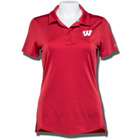 Under Armour Women's Wisconsin Leader Polo (Red)*