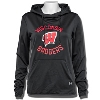 Under Armour Women's WI Badgers FT Pullover Hood (Black)*