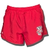 Under Armour Women's Bucky Badger Run Shorts (Red)