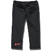 Under Armour Girl's Script Badgers Sonic Capris (Black) *