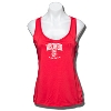 JanSport Women's Wisconsin Badgers Workout Tank (Red)