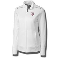 Cutter & Buck Women's Bucky Badger Full Zip Jacket (White)