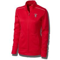 Cutter & Buck Women's Bucky Badger Full Zip Jacket (Red)
