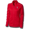 Cutter & Buck Women's Bucky Badger Full Zip Jacket (Red)