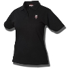 Cutter & Buck Women's Bucky Badger Pique Polo (Black) *