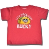 College Kids Toddler Bucky Badger Taco T-Shirt (Red)
