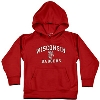 College Kids Toddler Wisconsin Badgers Hoodie (Red)