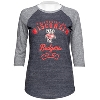 Alta Gracia Women's UW Baseball Shirt (Gray)
