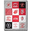 League University of Wisconsin Patch Blanket