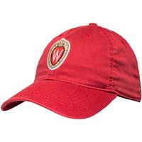Legacy Wisconsin Shield W Hat (Red)