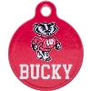 All Star Dogs Wisconsin Badgers Dog Tag