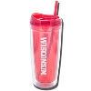 Geo Wisconsin Badgers Acrylic Tumbler (Red)* thumbnail