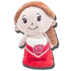 Mascot Factory Wisconsin Cheer Doll (Brown Hair)