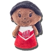 Mascot Factory Wisconsin Cheer Doll (Black Hair)