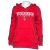Champion Women's WI Badgers Hoody (Red) *