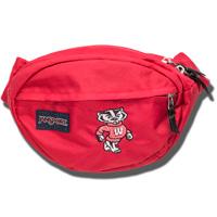 JanSport Bucky Badger Fanny Pack (Red)