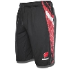 Under Armour WI Foundation Basketball Shorts (Black/Red) 3X*
