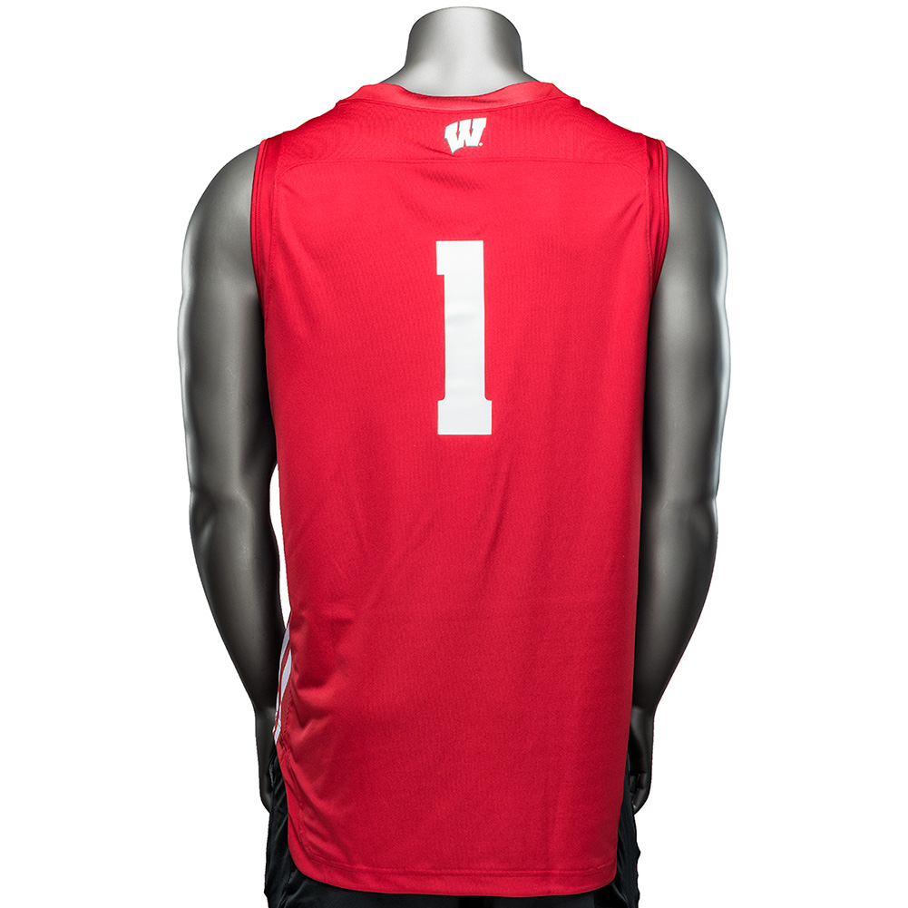 ... Under Armour WI Replica Basketball Jersey  1 (Red)   thumbnail 0a6bb2347