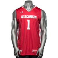 Under Armour WI Replica Basketball Jersey #1 (Red) *