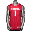 Under Armour WI Replica Basketball Jersey #1 (Red) * thumbnail