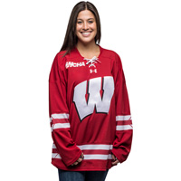 Under Armour Women's WI Replica Hockey Jersey (Red) *