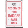 Legacy Bucky Badger Large Tin Sign