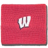 Under Armour Wisconsin 3 Inch Wristbands (Red) *