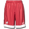 Under Armour Wisconsin Soccer Replica Shorts (Red) *