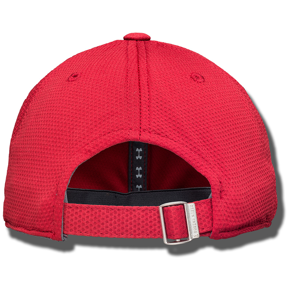 ... Under Armour Wisconsin UA Logo Adjustable Hat (Red)   thumbnail 5793514d203