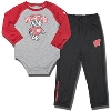 Under Armour Infant Bucky Badger Pant Set (Gray/Red)