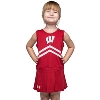 Under Armour Toddler Bucky Badger Cheer Dress (Red)