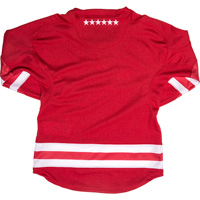 Under Armour Youth WI Replica Hockey Jersey (Red) *