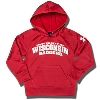 Under Armour Toddler UW Badgers Hooded Sweatshirt (Red)