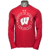 Under Armour UW Badgers Charged Cotton Long Sleeve (Red) 3X
