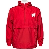 Champion Wisconsin Motion W Packable Jacket (Red) thumbnail