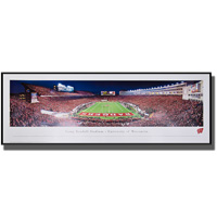 Blakeway Panorama Nebraska End Zone Framed Poster *