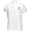 Unisex 3-Pocket Wisconsin Scrub Top (White)