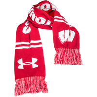 Under Armour Wisconsin Badgers Scarf (Red)