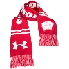 Under Armour Wisconsin Badgers Scarf (Red) thumbnail