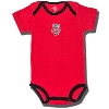 Creative Knitwear Infant Bucky Badger Onesie (Red/Black) *