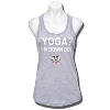 ZooZatz Women's Wisconsin Yoga Tank Top (Gray)