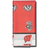 Stockdale Wisconsin Badgers Table Cover (Red/White)