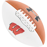 Under Armour Wisconsin Official Size Autograph Football